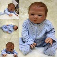 "20"" Newborn Reborn Baby Dolls Soft Silicone Vinyl Girl Boy Real Realistic Alive"