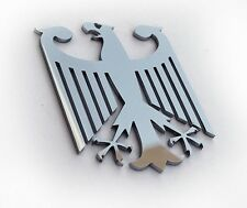 Real Metal German Eagle Germany Car Auto Automotive fender grille emblem Badge