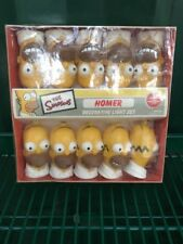 Simpsons Homer Decorative Light Set - Homer Head Lites NECA 2002