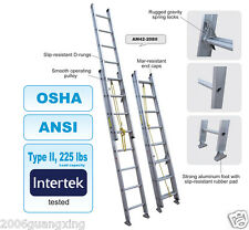 AR-ALUMINIUM extension ladder, tested to AS/NZS Aussie standard