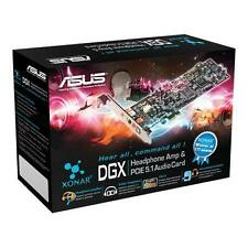 New ASUS Xonar DGX Dolby5.1 Headphone AMP Gaming PCIe Audio Sound Card