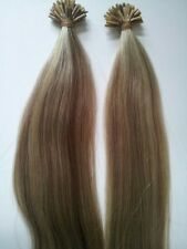 "PRE-BOND 18"" I-TIP EUROPEAN REMY AAA GRADE HUMAN HAIR 200 STRAND FOR MICRO LINKS"