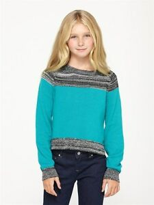 Roxy On The Road White or Blue Girl Sweater Sz 10