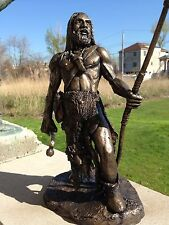 Neanderthal Warrior Sculpture By Chris Levatino