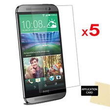 5 X Ultra Clear LCD Screen Protector Cover Guard Shield for HTC One M8s & One M8