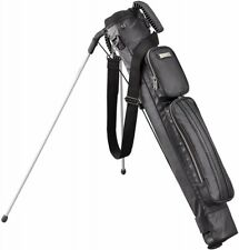 NEW TITLEIST 19 Golf bag PU self stand carry club case AJSSB91-BK from JAPAN