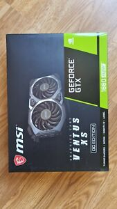 MSI GeForce GTX 1660 SUPER 6GB VENTUS XS OC - BRAND NEW ✔ TRUSTED SELLER ✔ #1