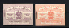 Canada - Unitrade# BK35b & BK36d MNH Booklets -  Lot 1020043
