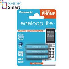 6 Panasonic Eneloop Lite Rechargeable AAA Hr03 Batteries 3 BLISTER 1.2v 550mah