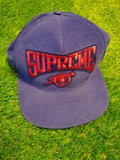 Supreme 5 Panel Hat Royal Blue Snapback