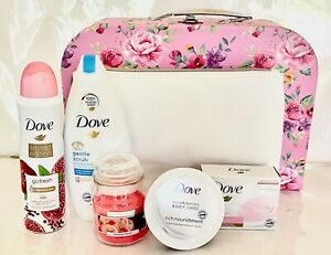 NEW DOVE Ladies 6pc Pamper Hamper *Gift for birthday/Thank you/Anniversary*