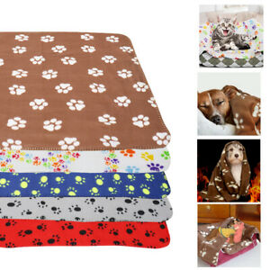 Dog Blankets for Small Medium Large Dogs Washable Fleece Bed Mat for Couch Crate
