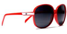 adidas Originals Womens Red Sunglasses Dark Oval Shades Round Fashion Eye Wear