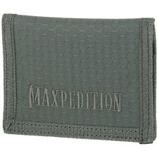 Maxpedition AGR Slim Low Profile Wallet Mens Hex Ripstop Nylon Urban Pouch Grey
