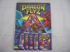 Merlin Dragon Flyz Sticker Album Sealed