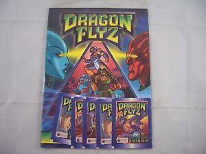 Merlin Dragon Flyz Sticker Album Sealed