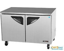 "Turbo Air TUR-48SD Super Deluxe 48"" Double Door Undercounter Refrigerator"