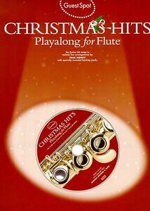 Guest Spot Christmas Hits für Querflöte mit Play-a-long CD