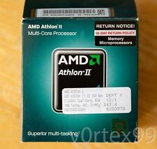 AMD Athlon II X2 240 - ADX2400CGQBOX Dual Core CPU Processor with Heat Sink Fan