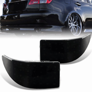 Smoked Lens Rear Bumper Reflector LED Brake Lights For 06-13 Lexus IS250 IS350