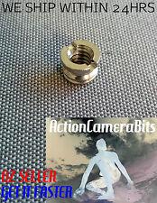 "1/4"" inch to 3/8"" Convert Screw tripod monopod Adapter Camera converter DSLR"