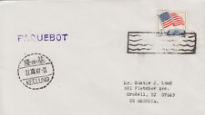 1967 Keelung China Paquebot cover