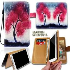 Leather Wallet Card Stand Flip Case Cover For Various Samsung Galaxy Phones