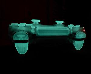 1x Tasten-Set Button transparent leuchten nachts für PS4 Playstation 4 JDM-040