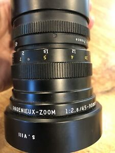 Angenieux Leica R 45-90mm F2.8 Zoom Lens France