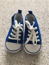 Reino Unido 0-3 botones Gibson tradicional suela suave Bebé Niños Pram Zapatos-Baypods