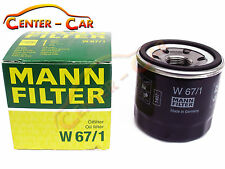 ORIGINAL MANN FILTER ÖLFILTER W67/1 MAZDA NISSAN SUBARU KIA HONDA HYUNDAI