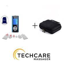 TechCare Mini Massager Tens Unit Lifetime Warranty Tens Machine with Hard Case