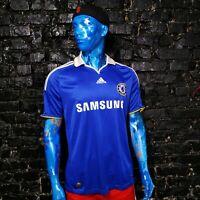 Chelsea Jersey Home football shirt 2008 - 2009 Blue Adidas 656133 Mens Size L