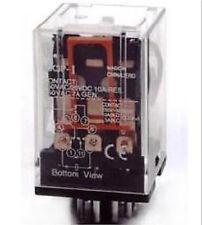 OMRON MK3P-I DC 24V Relay 11-Pin 10A 250VAC With PF113A Socket Base