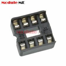 50/100PCS 8pin DIP IC Socket Adaptor Solder Type Socket Pitch Dual Wipe