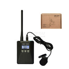 Czerf pll fm stereo transmitter 0.2w radio station broadcast battery 1000mah