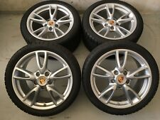 "Original PORSCHE 997 Carrera IV Felgen C4 4S TURBO 18"" WINTERRÄDER 7,0mm 2015"