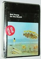 Still Sealed ☆ 1974 NEIL YOUNG ~ ON THE BEACH ☆ 8-Track Tape ☆ WARNER BROS.