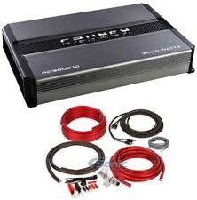 Crunch PD 3000.1D 3000W Mono Car Audio Amplifier + BAK42 Premium Amp Kit Package