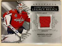 2020/21 Upper Deck Artifacts Braden Holtby Jersey Lord Stanley's Legacy Relics