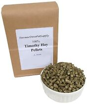 5 lb TIMOTHY HAY PELLETS Rabbit, Chinchilla, Guinea Pig