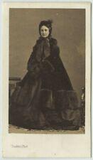 CDV 1860-70 Lozano à Paris. Charlotte de Belgique, impératrice du Mexique.