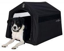 Trixie Hundekönig Indoor-Hütte, 59 × 54 × 70 cm, schwarz