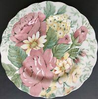"Nikko Fine Tableware ""ENGLISH GARDEN"" 10 3/4"" Dinner Plate - Japan EUC"