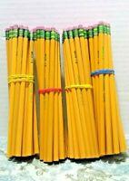 Dixon Ticonderoga Yellow Pencils Lot Of 80 #2 HB Unsharpened Nontoxic Teacher