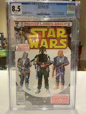 Star Wars 42 CGC 8.5 NEWSSTAND White Pages 1st Boba Fett Marvel Comic 12/80