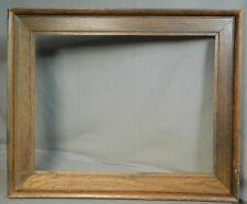 Antique Arts Crafts Dark Oak Casetta Picture FRame Mission 1925 Vintage 13x17