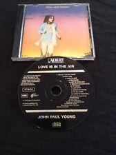JOHN PAUL YOUNG LOVE IS IN THE AIR  CD  AUSTRALIA PRESS BLACK ALBERT 4770752 OOP