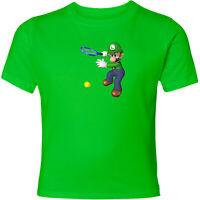 Nintendo Super Mario Luigi Tennis Unisex Men Women Fun Sport Video Game T-Shirt