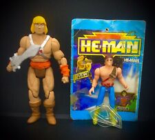VERY RARE HTF VTG HE-MAN MOTU CARDED AND 2020 SUPER RARE MEXICAN BOOTLEG FIGURES
